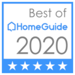 best of homeguide 2020 5-star badge