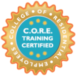 college of residential employees core training certified