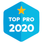 top pro 2020 thumbtack badge